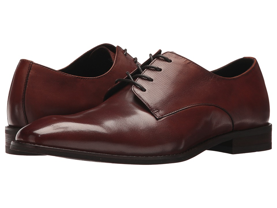 Kenneth Cole New York - Courage Oxford (Cognac) Mens Lace up casual Shoes