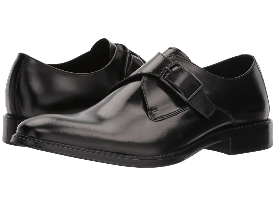 Kenneth Cole New York - Tully Monk (Black) Mens Shoes