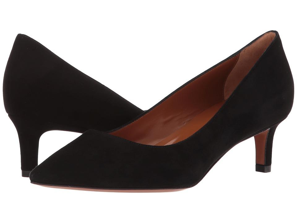 Aquatalia Marion (Black Dress Suede) 1-2 inch heel Shoes