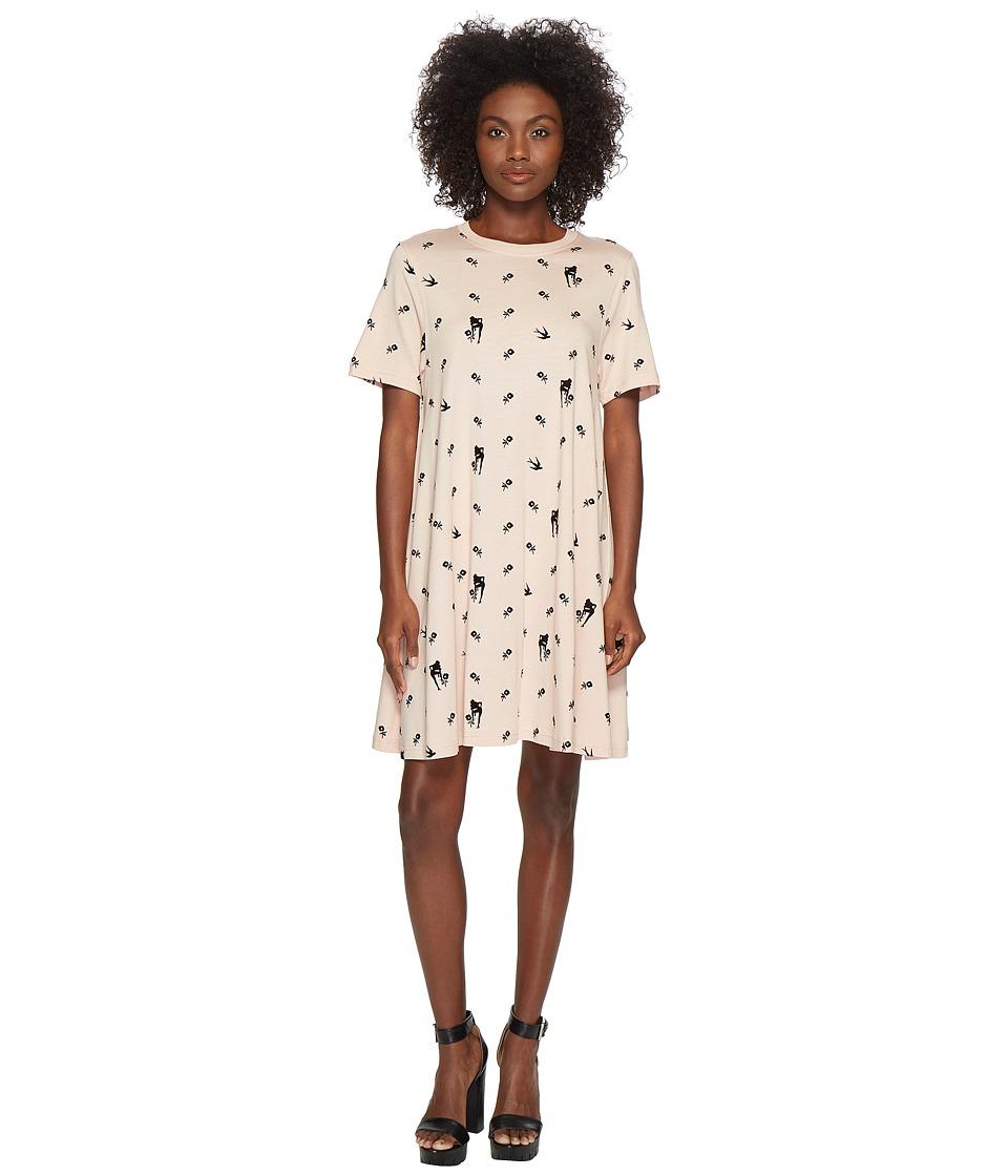 McQ - Babydoll Dress (Pale Peach) Womens Dress