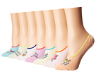 HUE HUE Sock of The Day Liner Giftable 7-Pair Pack