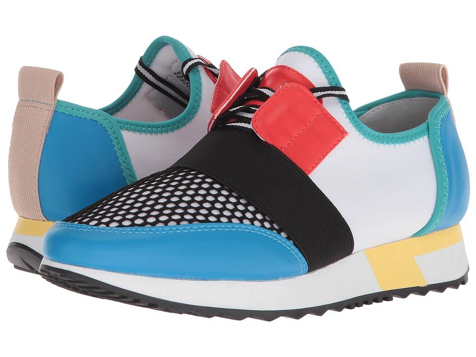 Steve Madden Antics Sneaker (Bright Multi) Women's Shoes