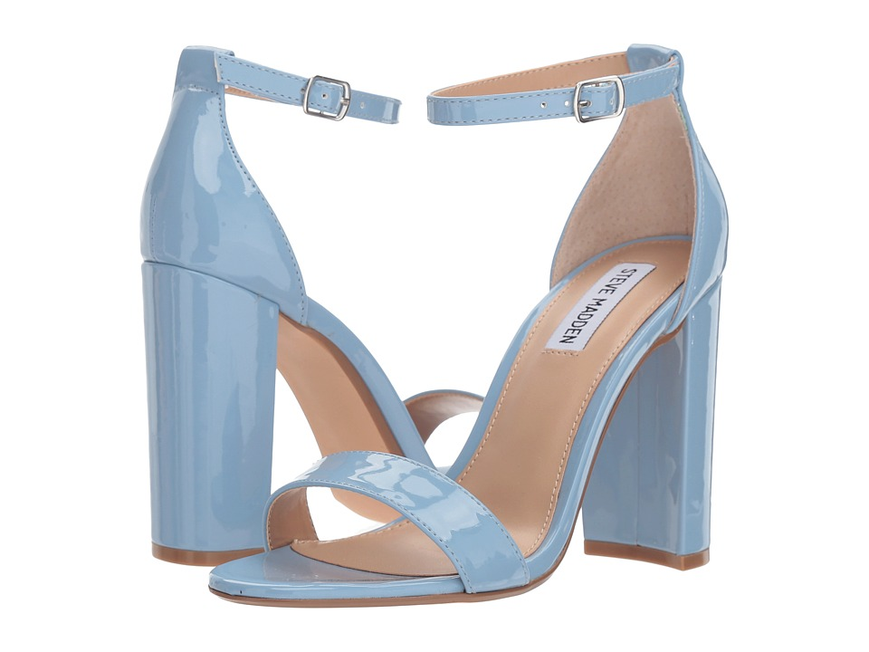 Steve Madden Carrson Heeled Sandal (Dusty Blue) High Heels