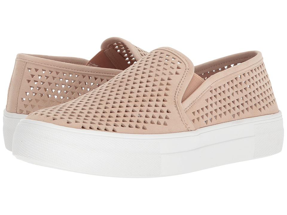 Steve Madden Gills-P Sneaker (Natural Suede) Slip-On Shoes