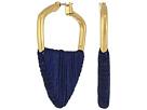 Lucky Brand Threaded Hoop Earrings