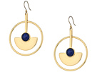 Lucky Brand Circle Statement Earrings