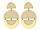 Lucky Brand Leather Earrings