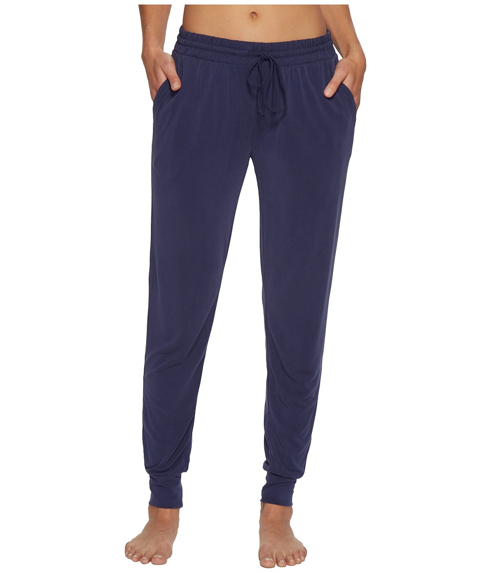 P.J. Salvage - Elevated Lounge Jogger Pants (Navy) Womens Pajama