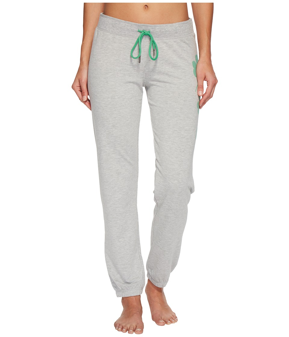 P.J. Salvage - Lucky Me Joggers (Heather Grey) Womens Pajama