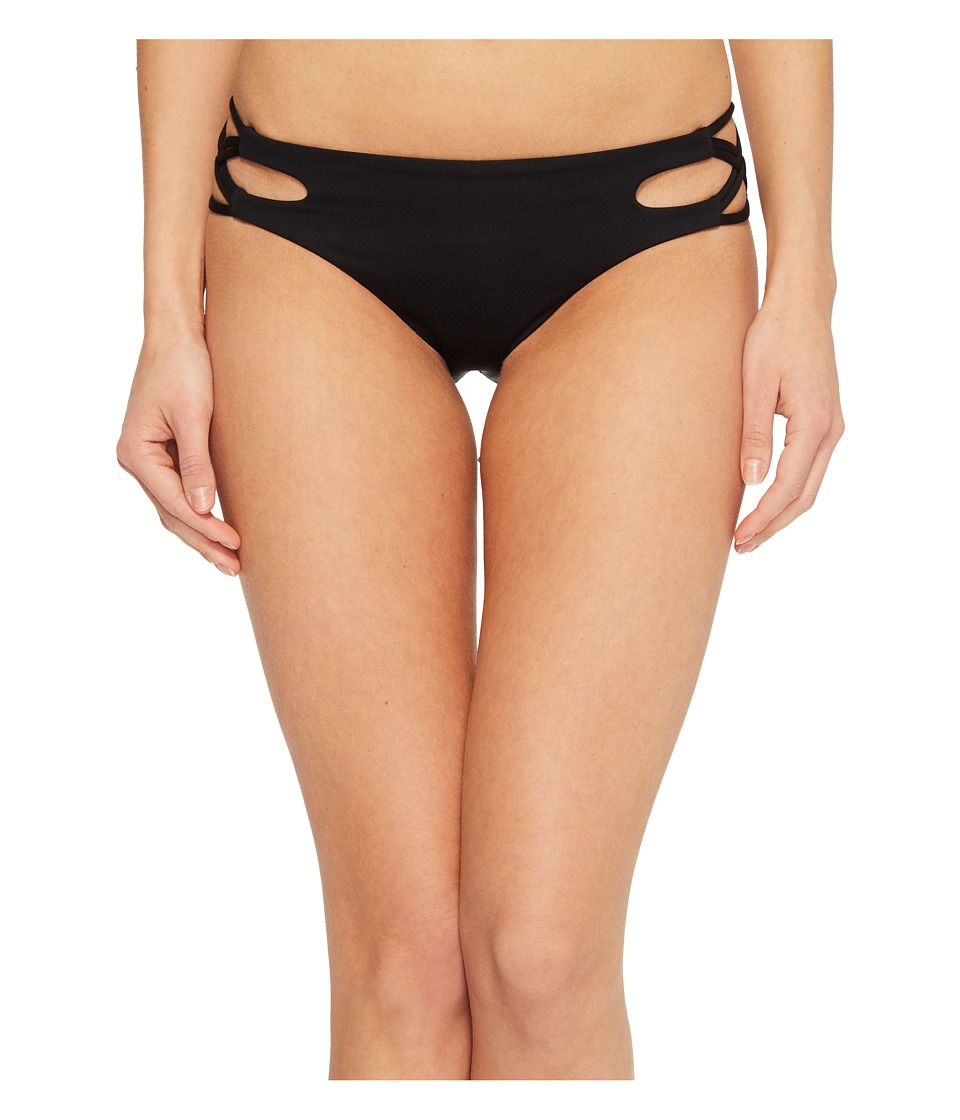 Isabella Rose - Paradise Maui Bikini Bottom (Black) Womens Swimwear