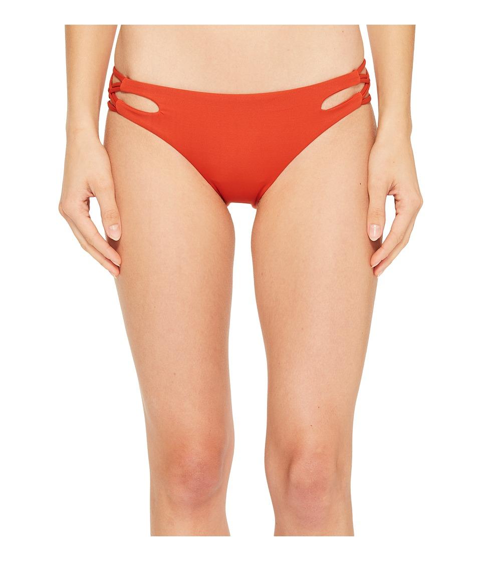 Isabella Rose Paradise Maui Bikini Bottom (Paprika) Women