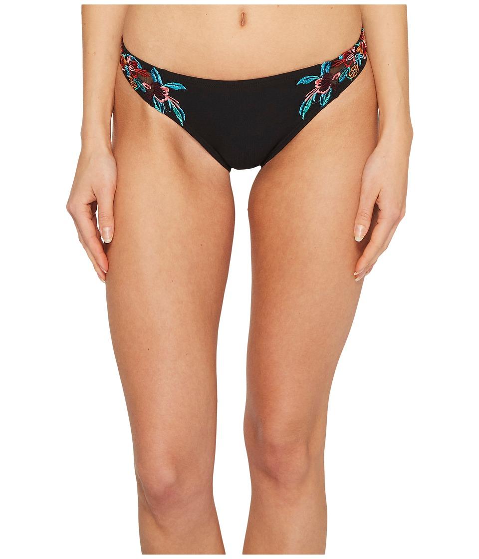 Laundry by Shelli Segal Mesh Embroidery Hipster Bikini Bottom LYSS8211-990