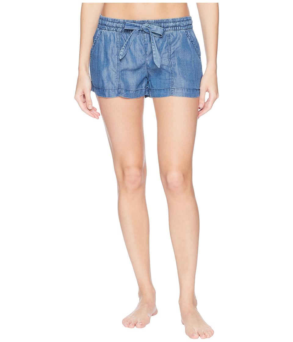 P.J. Salvage - Denim Blues Shorts (Denim) Womens Pajama