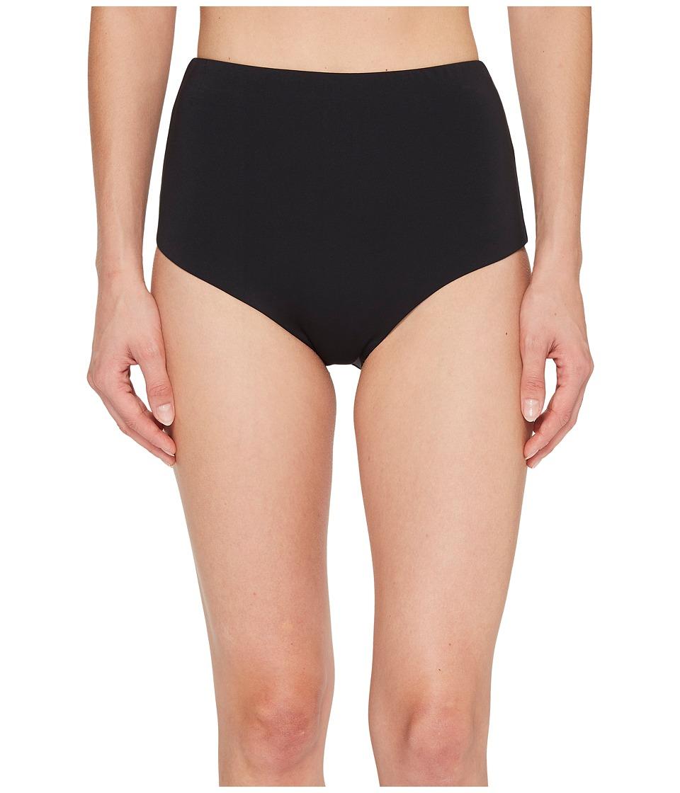 Laundry by Shelli Segal Italian Luxe Solid High-Waist Bikini Bottom LYSS8248-001