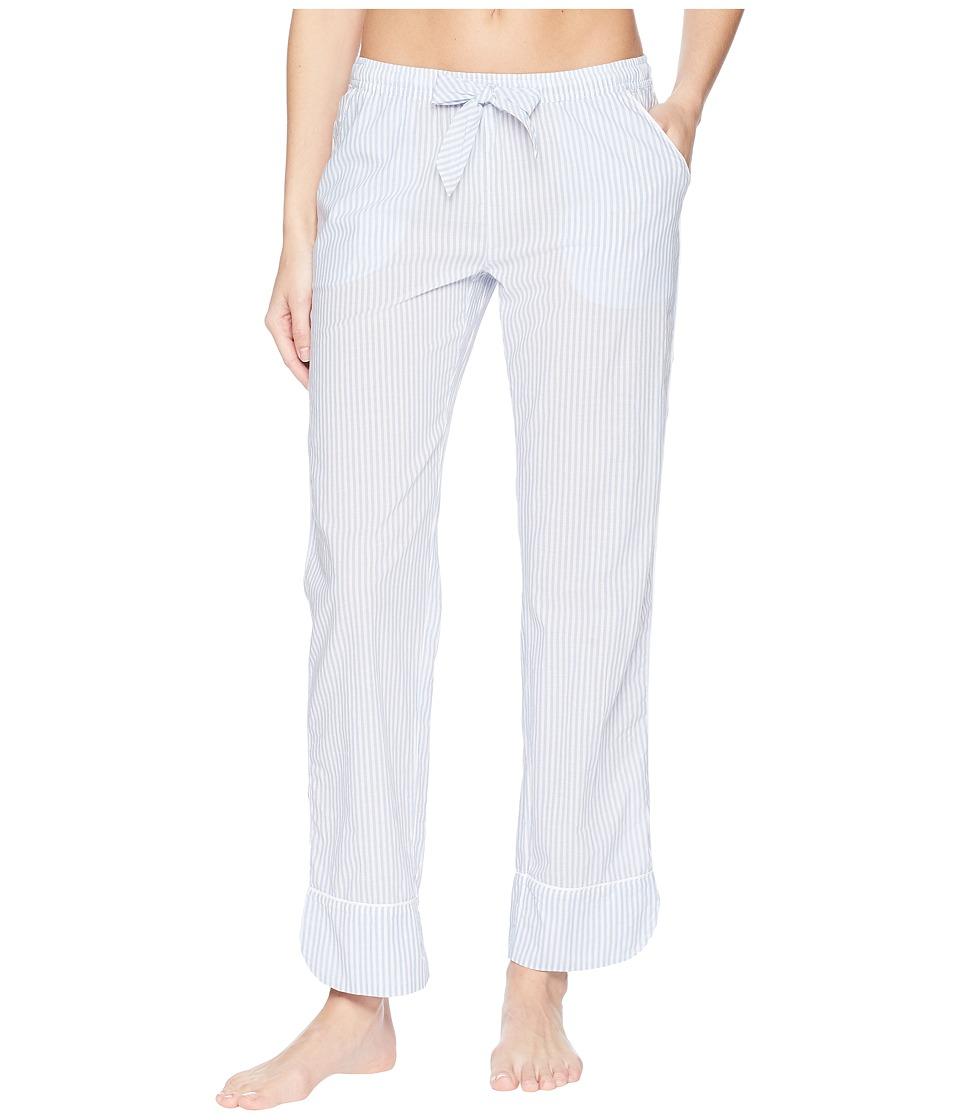 P.J. Salvage - Denim Blues Striped Pants (Blue) Womens Pajama