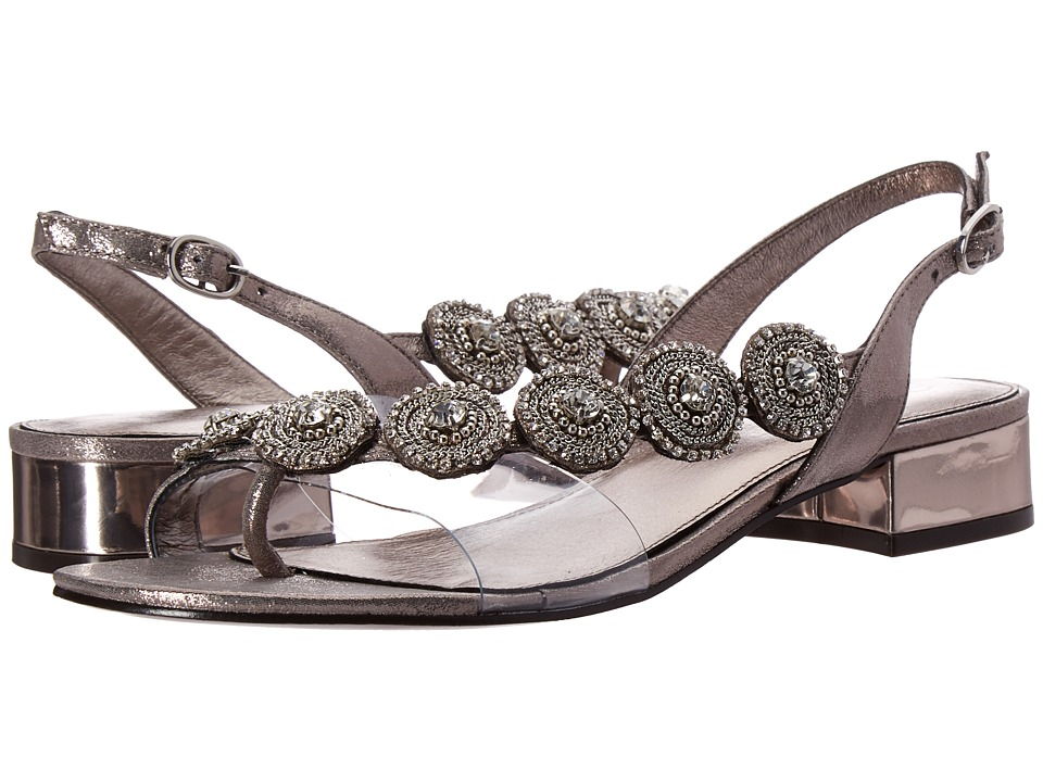 Adrianna Papell - Daisy (Gunmetal) Women's Dress Sandals