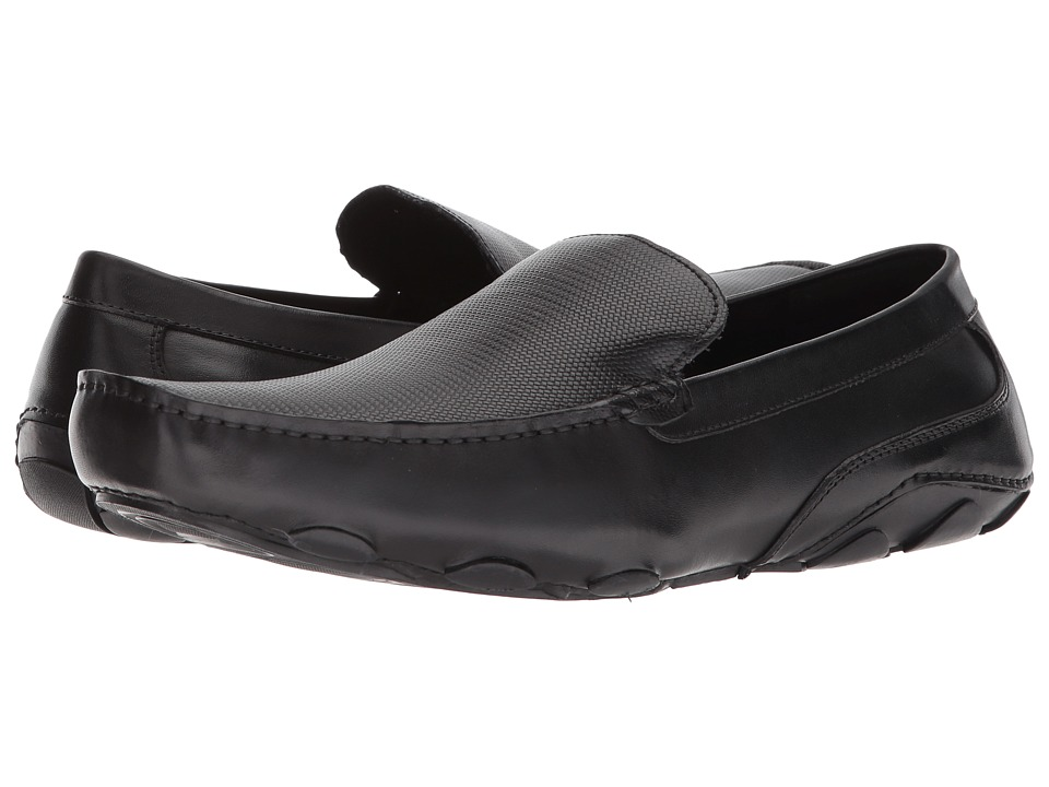 Kenneth Cole Reaction - Toast Driver (Black) Mens Slip on  Shoes