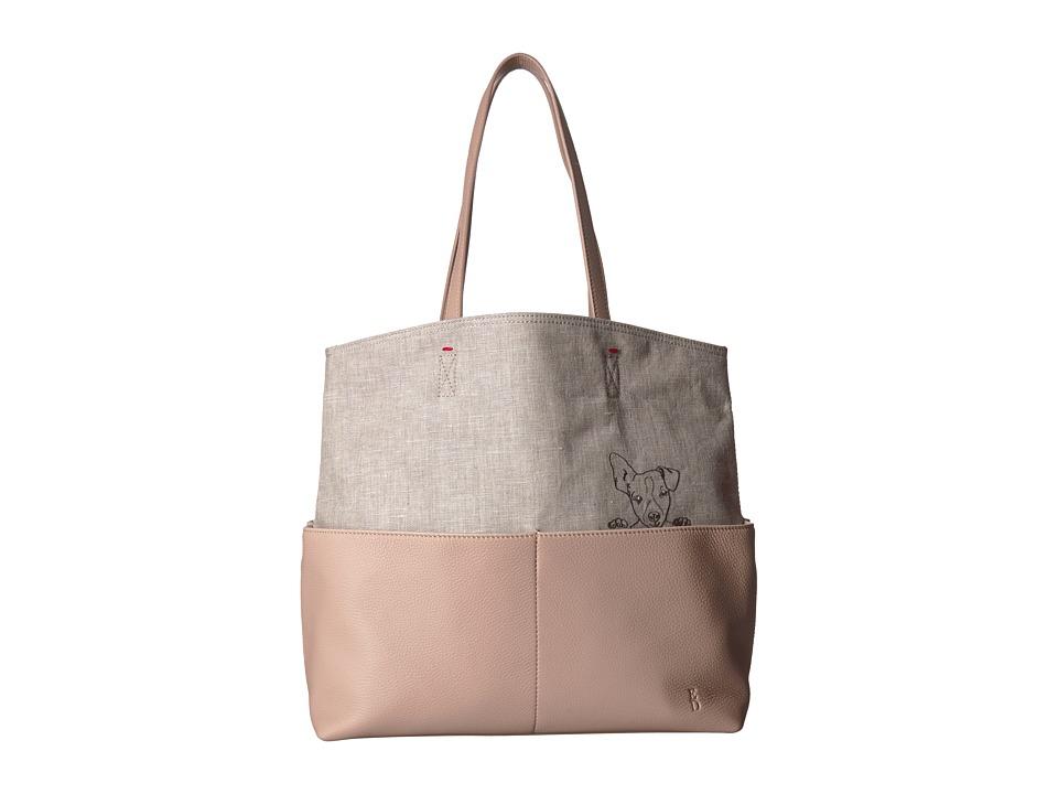 ED Ellen DeGeneres - Henlee Tote (Rosa) Tote Handbags