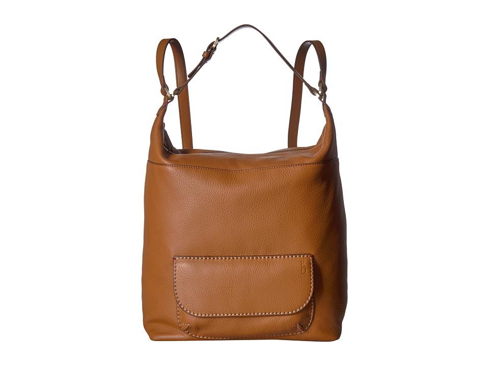 ED Ellen DeGeneres - Large Backpack (Dark Tan) Backpack Bags