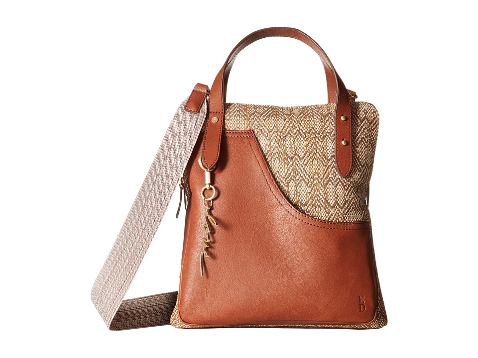 ED Ellen DeGeneres - Carmel Crossbody (Natural) Cross Body Handbags