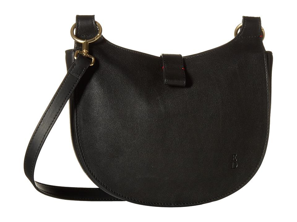 ED Ellen DeGeneres - Mina Crossbody (Black) Cross Body Handbags