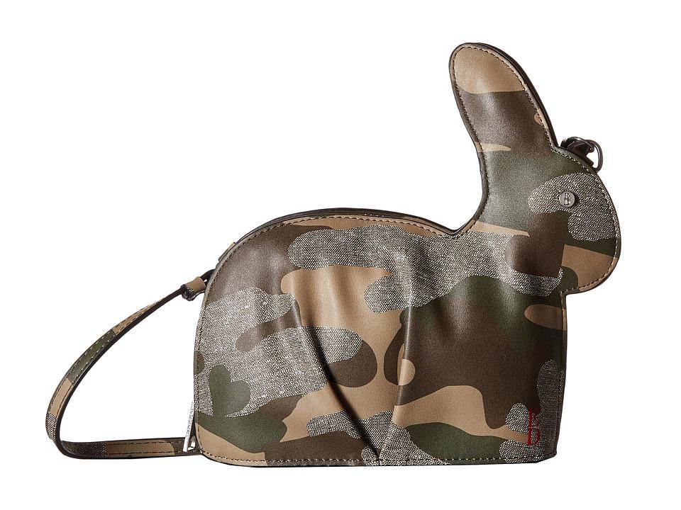 ED Ellen DeGeneres Carot Crossbody (Forest) Cross Body Handbags