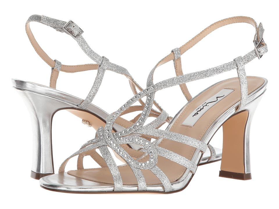Nina Amabel (Silver) Sandals