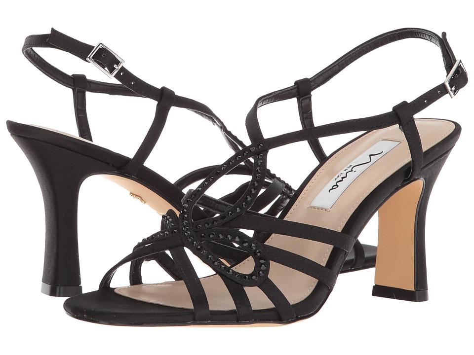 Nina Amabel (Black) Sandals