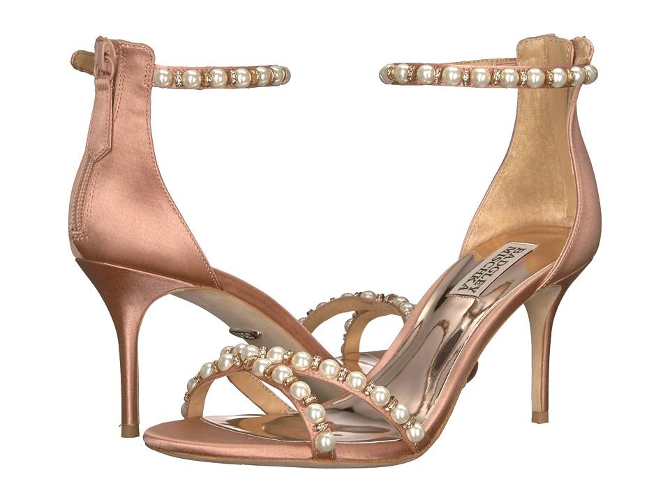 Badgley Mischka Hannah (Dark Pink Satin) High Heels