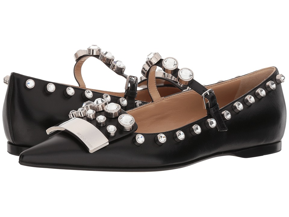 Sergio Rossi A81180 MFN336 (Black/Nero) Women's Shoes