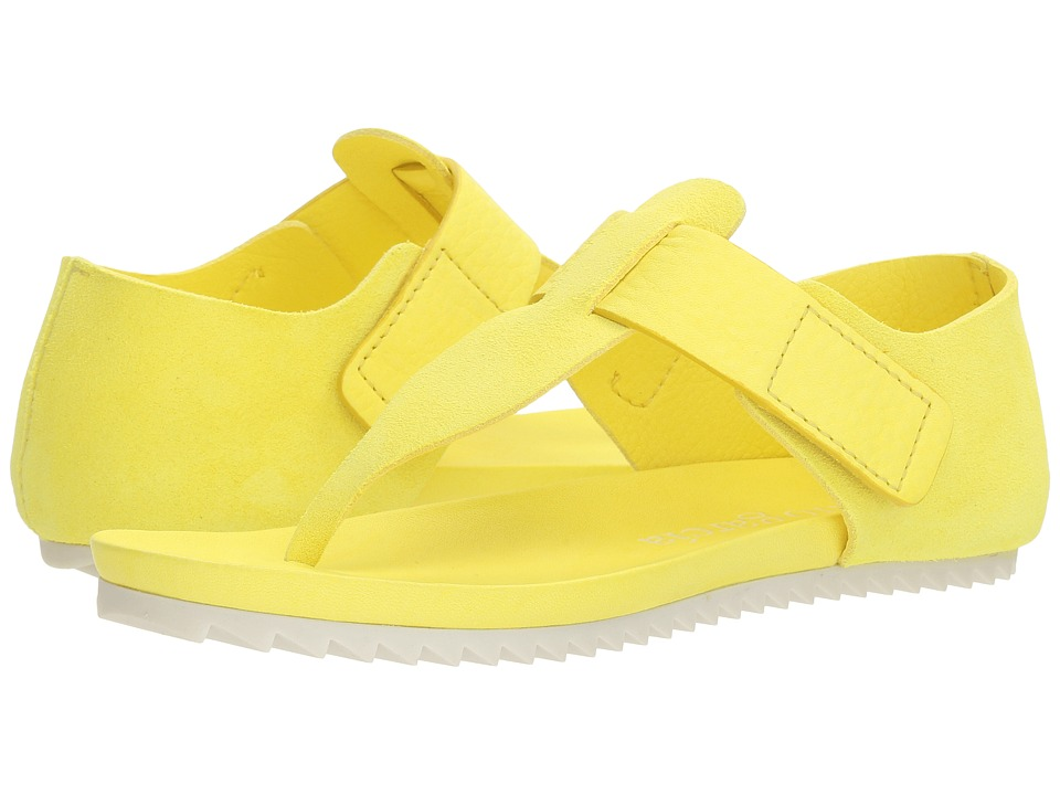 Pedro Garcia - Jacqui 566 (Highlighter Yellow Neon Castoro) Women's Sandals