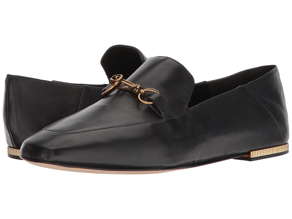Donna Karan Debz Loafer (Black Luxe Nappa) Women