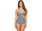 Tory Burch Swimwear Tory Burch Swimwear Clemence Underwire One-Piece