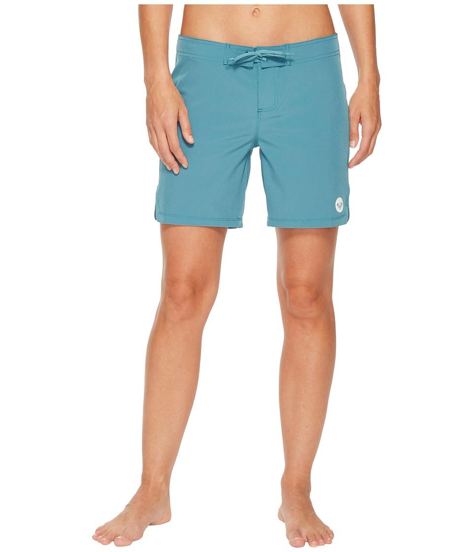Roxy To Dye 7 Boardshort (Brittany Blue) Women