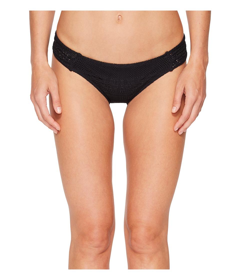 Roxy Surf Memory Scooter Bikini Bottom (Anthracite) Women