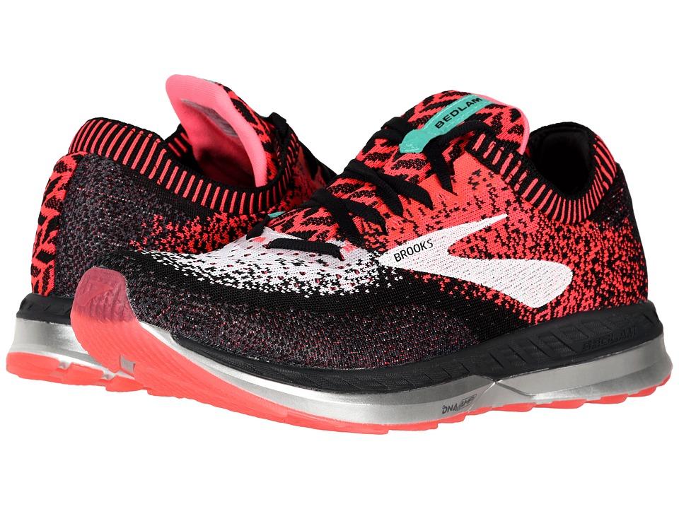 Brooks Bedlam (Pink/Black/White) Women's Running Shoes