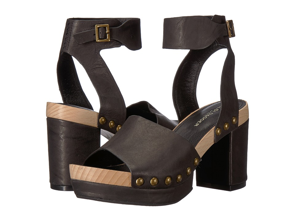 Kelsi Dagger Brooklyn - Farris (Black Veg Leather) Womens Shoes