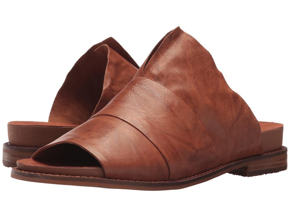 Kelsi Dagger Brooklyn Ohana Slide (Russet Veg Leather) Women's Shoes