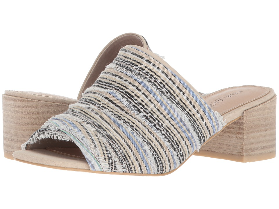 Kelsi Dagger Brooklyn - Seigel Slide (Bone/Multi Leather/Fabric) Womens Shoes