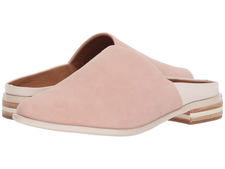 Kelsi Dagger Brooklyn Aiva (Off-White/Pale Pink Leather/Suede) Women's Shoes
