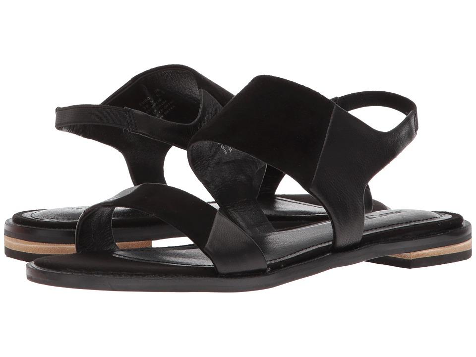 Kelsi Dagger Brooklyn Rogan (Black Leather/Suede) Women's Shoes