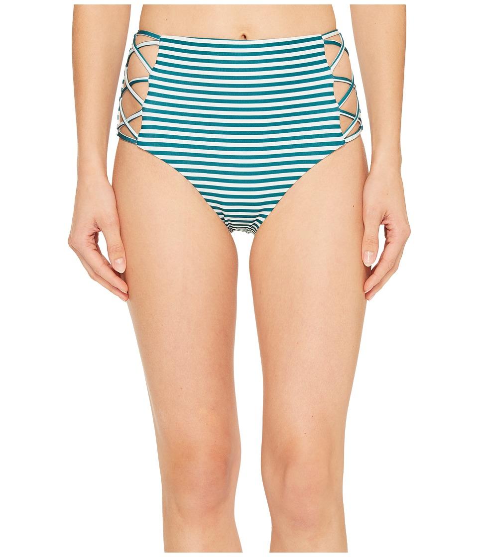 Isabella Rose Avalon High-Waist Bikini Bottom (Multi) Women