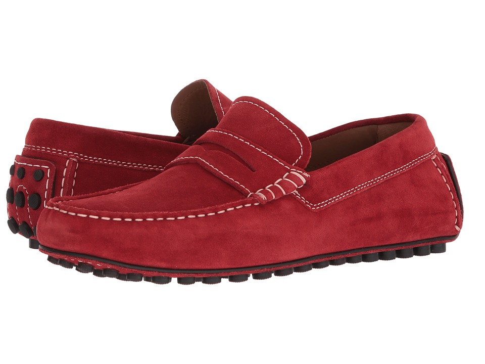 Robert Talbott - Le Mans (Red Suede) Mens Shoes