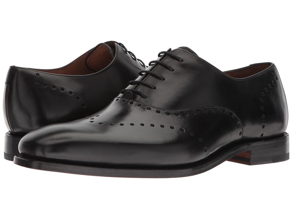 Robert Talbott - Belvedere (Black Leather) Mens Shoes
