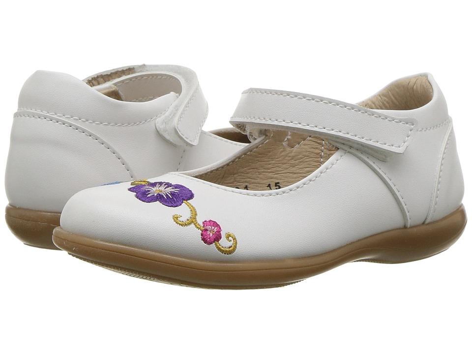Kid Express - Athena (Toddler/Little Kid) (White Combo) Girls Shoes