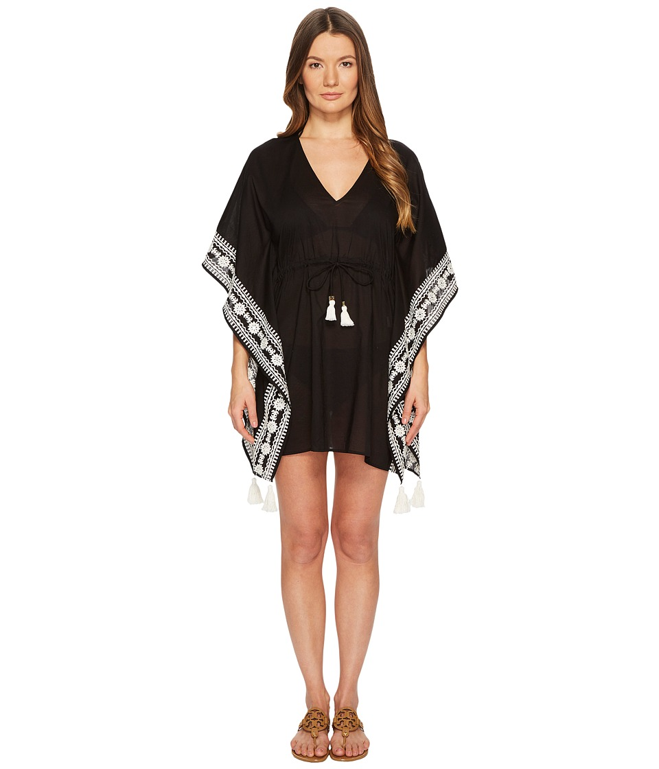 Tory Burch Swimwear Ravena Beach Caftan Top Cover-Up 46404-001