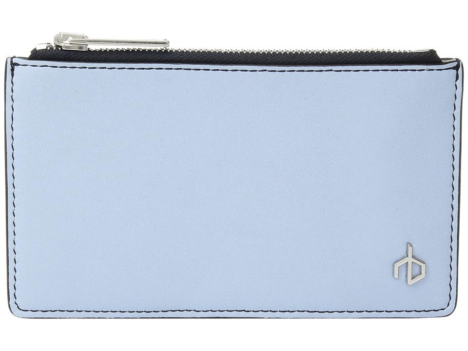 rag & bone - Zip Card Case (Chambray Multi) Credit card Wallet