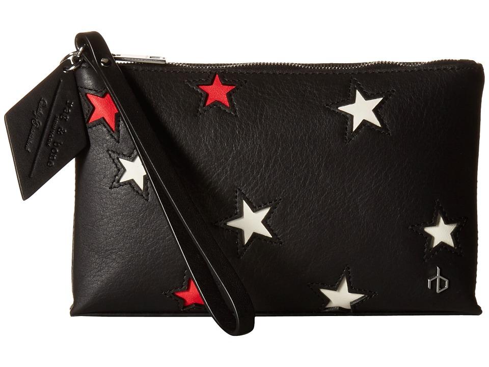 rag & bone - Wristlet Pouch (Star Multi) Wallet Handbags