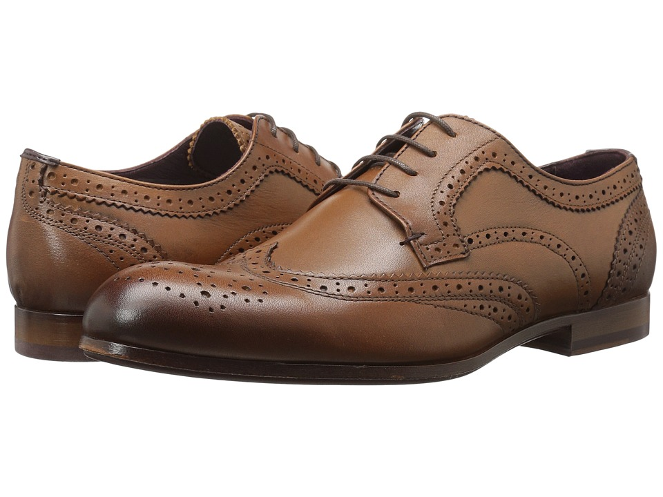 1940s Mens Clothing Ted Baker - Granet Tan Leather Mens Shoes $240.00 AT vintagedancer.com