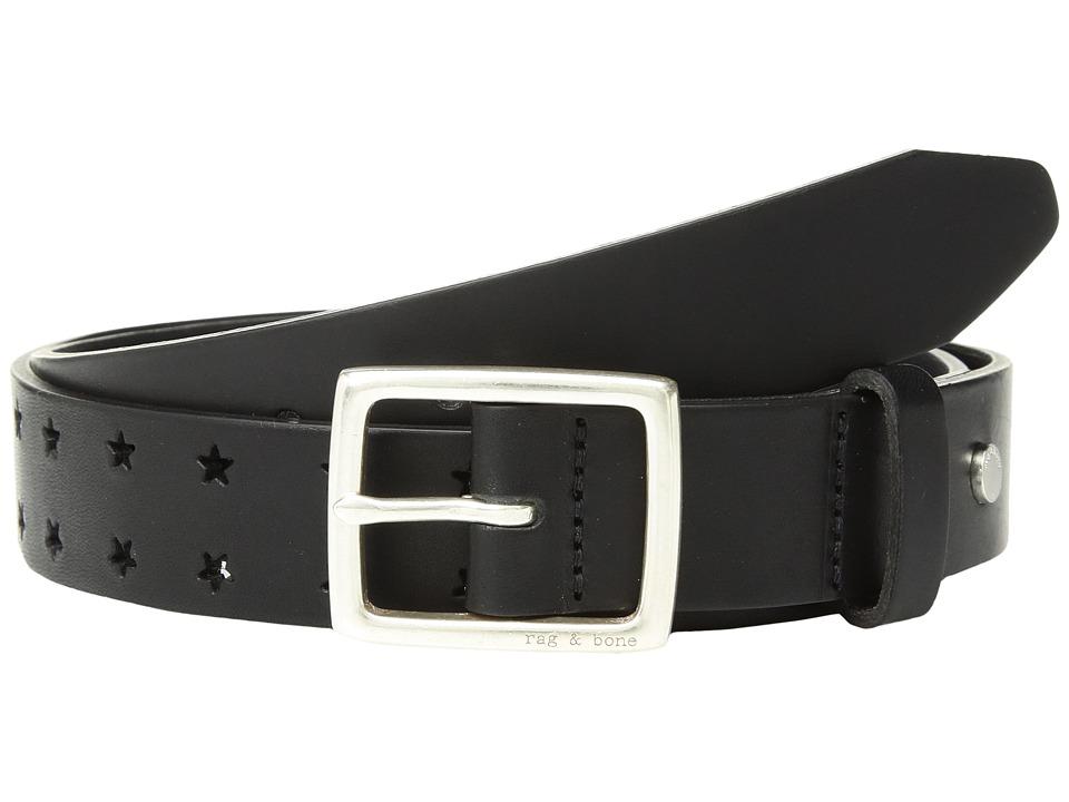rag & bone - Boyfriend Belt (Black Star) Womens Belts